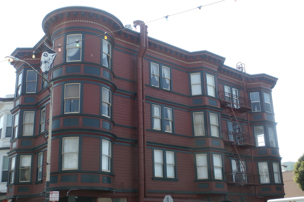 Edwardian  with Romeo and Juliet fire escape in North Beach.