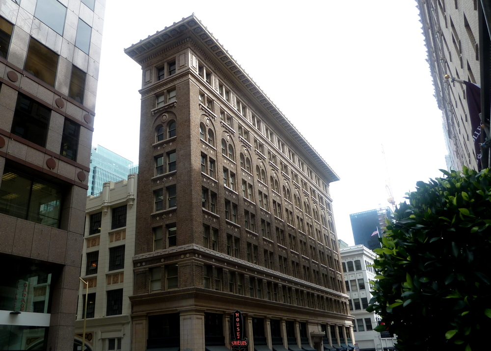 The Sharon Building on New Mongomery and Mission