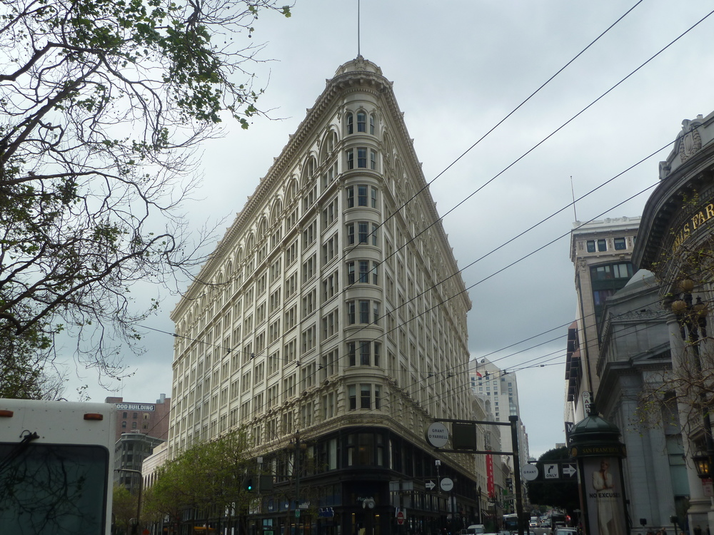 Phelan Building, Market at O'Farrell