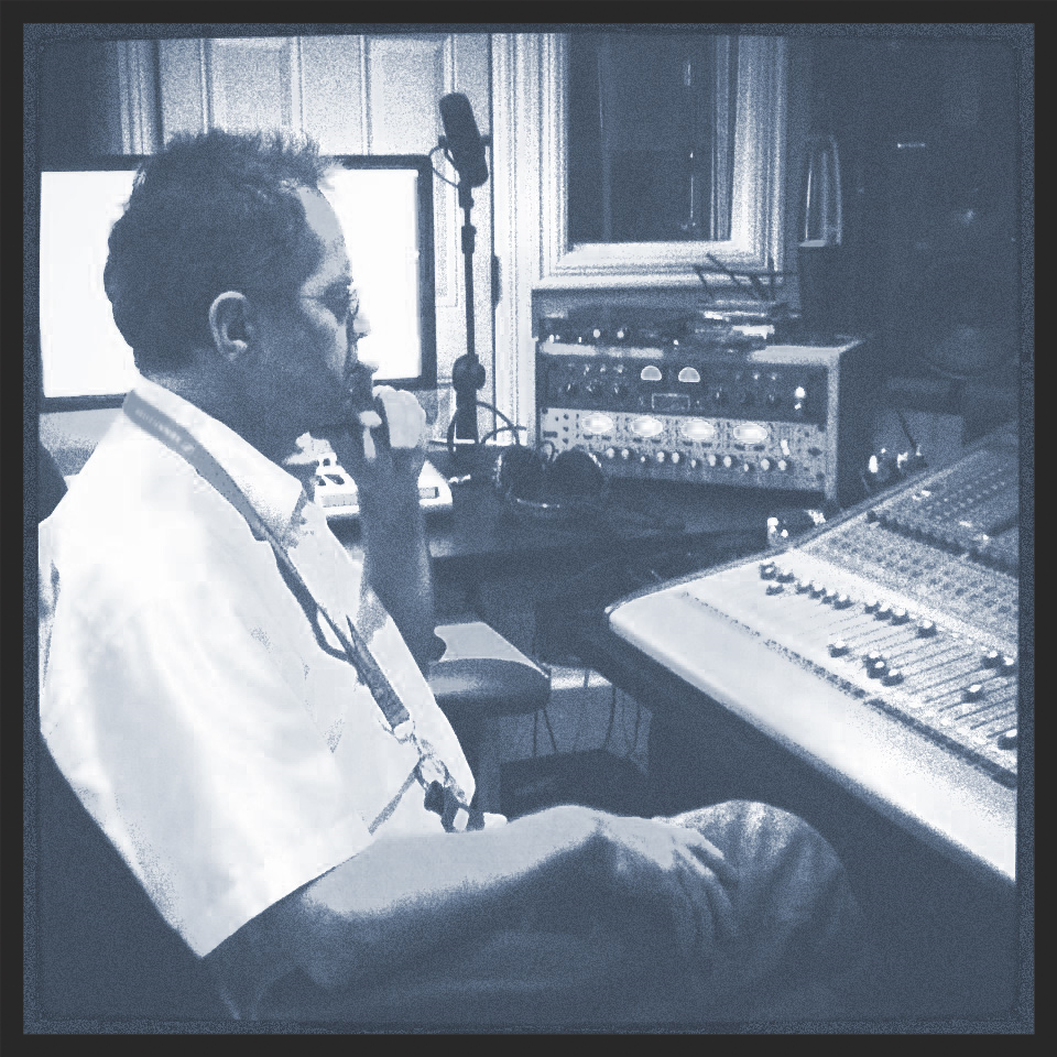 Séance de prises pour l'album 'Les P'tites heures du matin' de Danny Boudreau