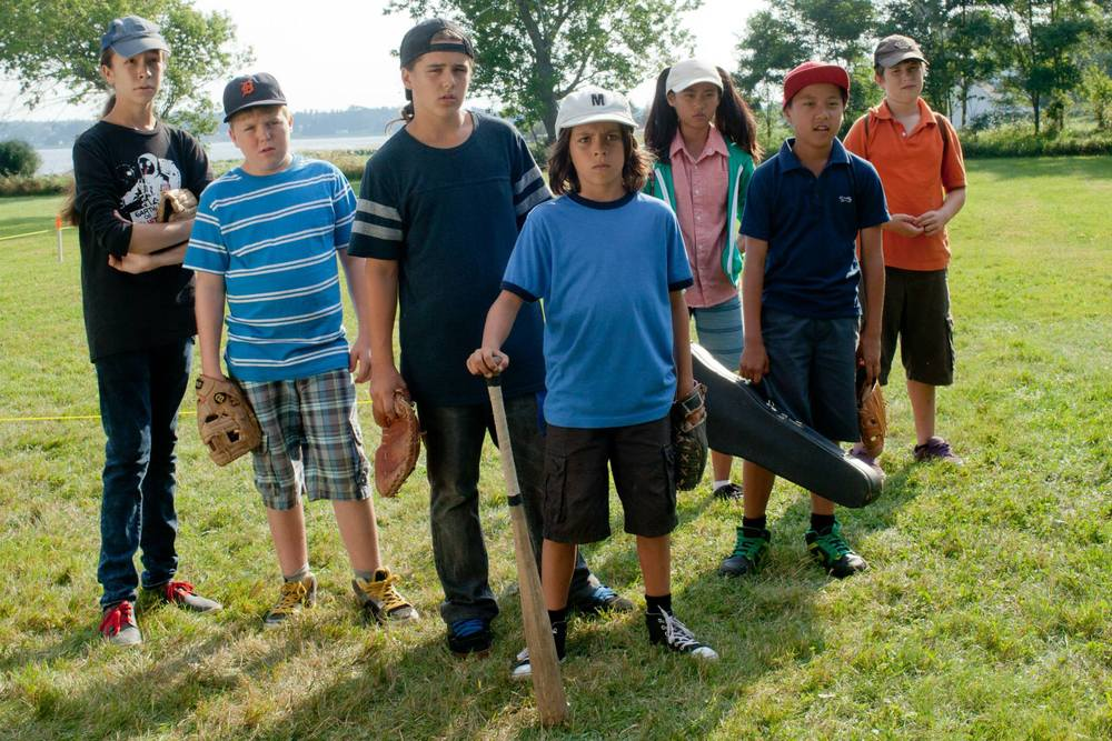 Les jeunes vedettesdu film 'La gang des hors la loi'.