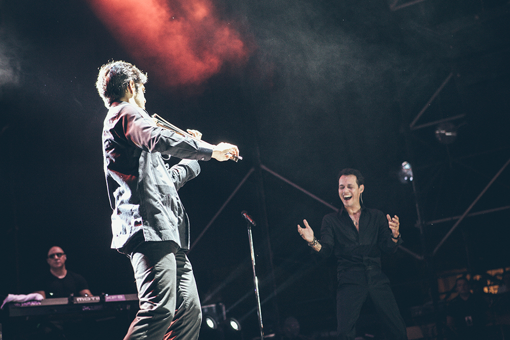 with Marc Anthony