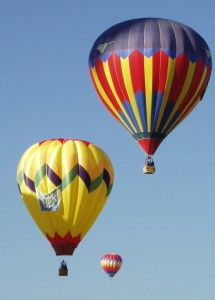 Balloons In New Mexico