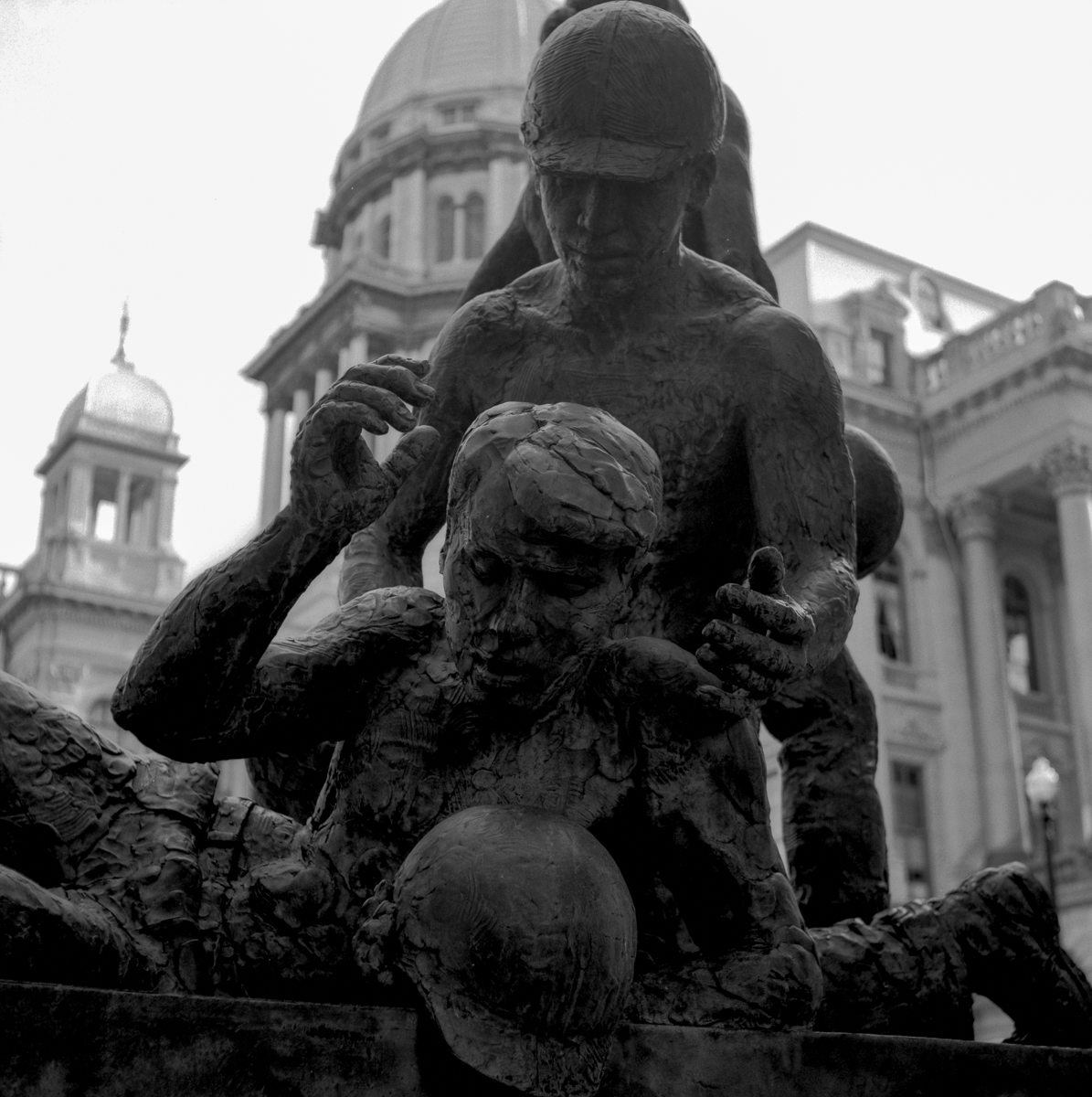 The Illinois Organized Labor Memorial at The State Capitol in Springfield
