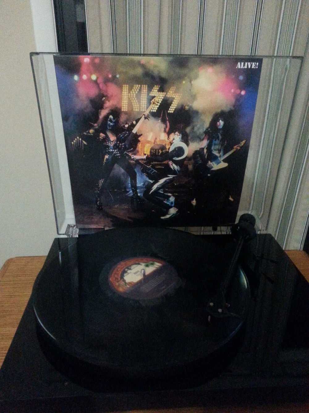 KISS Alive On The Turntable