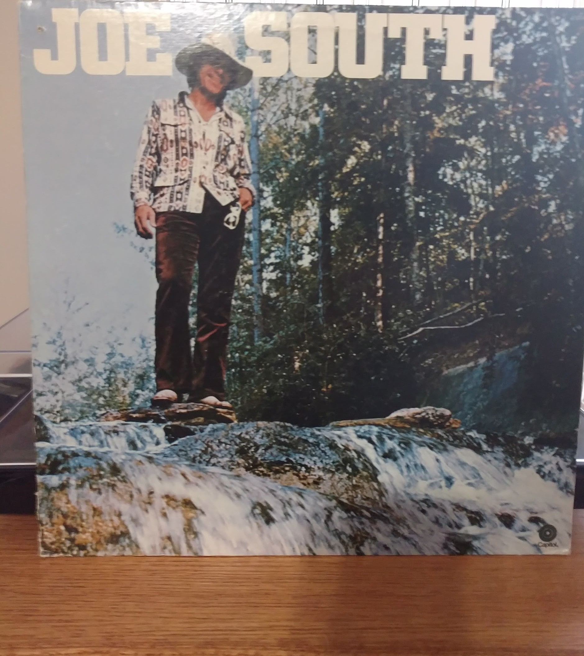 The front of the Joe South cover