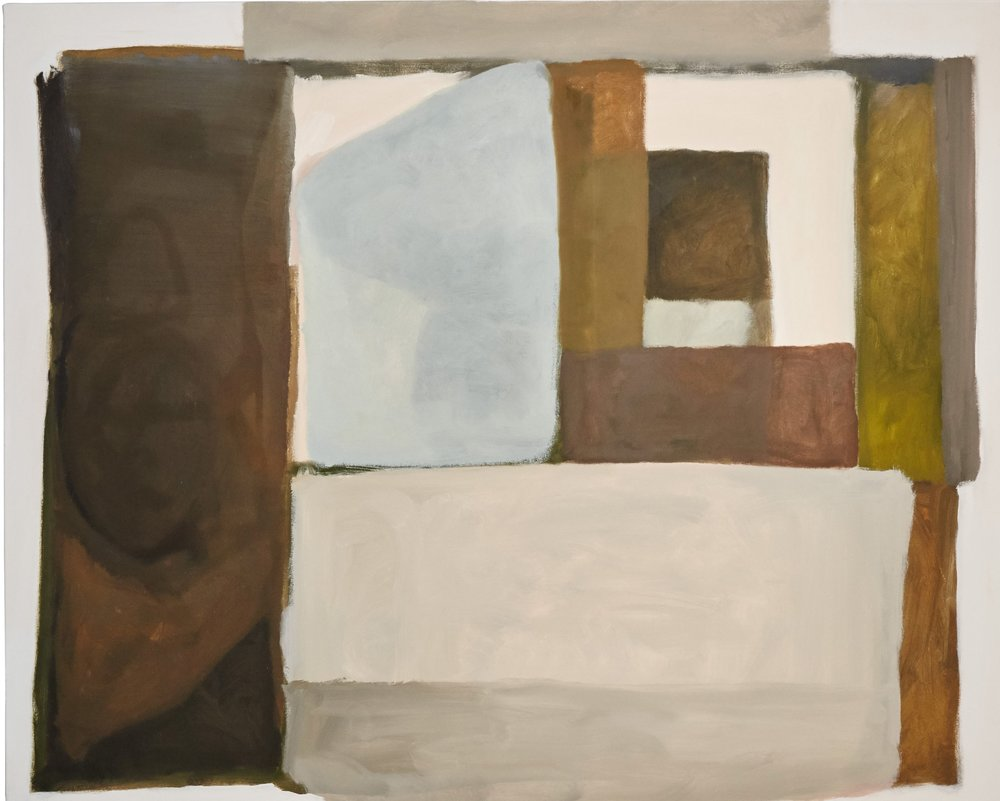 """Stables at 10am, 48""""x60"""" oil on canvas"""