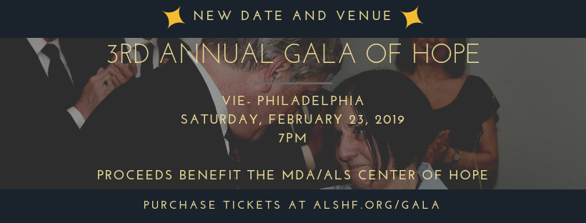 Gala of Hope for ALS - New Venue and Date — ALS Hope Foundation