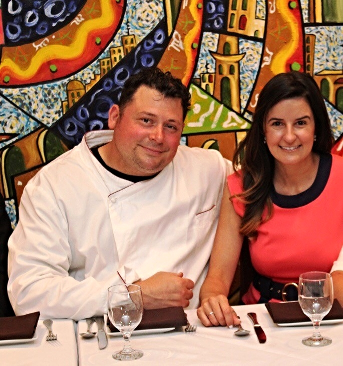 Meet the Gualtieri's - Chef & Owner, Brian Gualtieri & his wife & General Manager, Carolina Gualtieri.