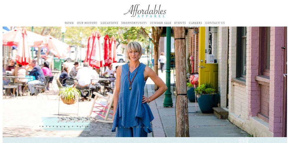 Web Design Charleston Retailer
