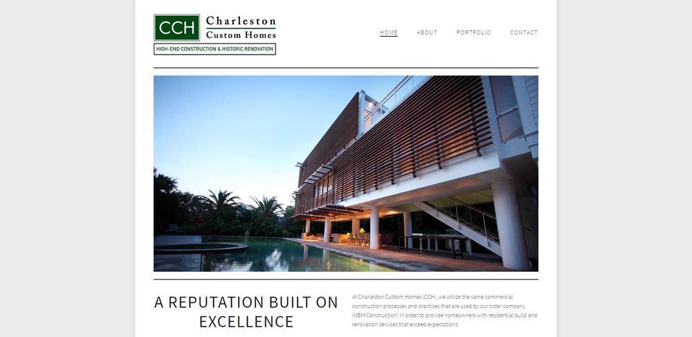 Web Design Charleston Construction Company