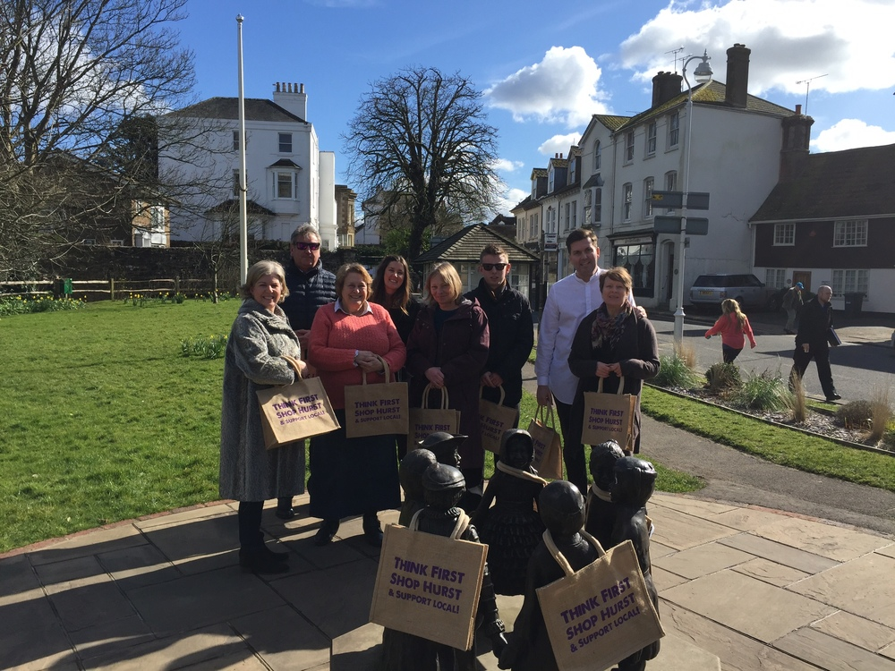 Hurstpierpoint Traders introduce local shopping bags