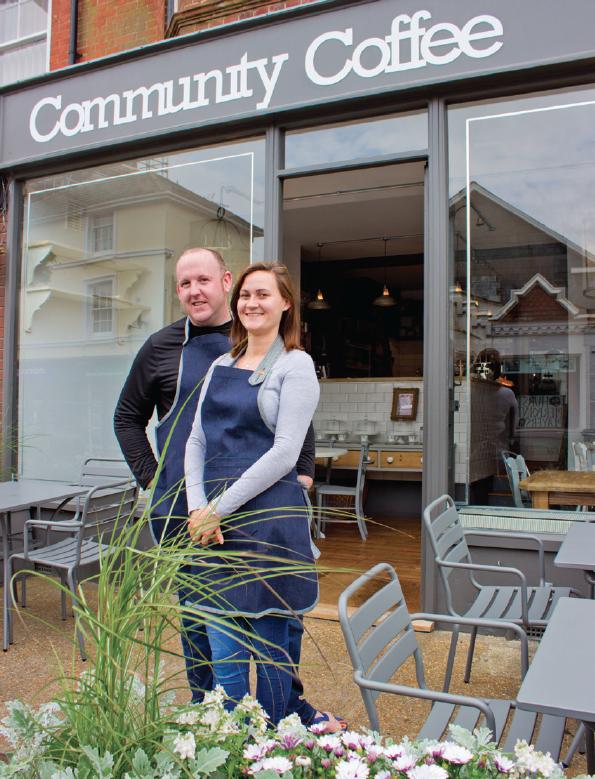 Community Coffee shop in Hurstpierpoint