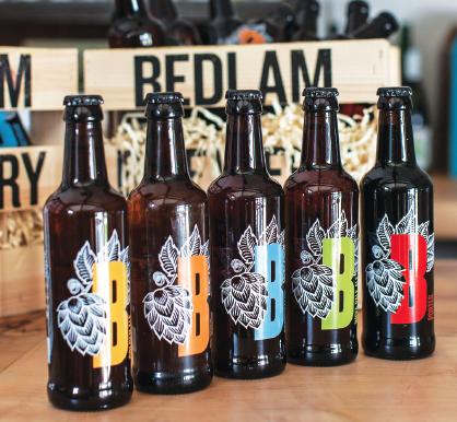 Bedlam Brewery beers