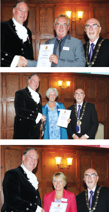 Community Service Awards 2016, Hurstpierpoint people awarded
