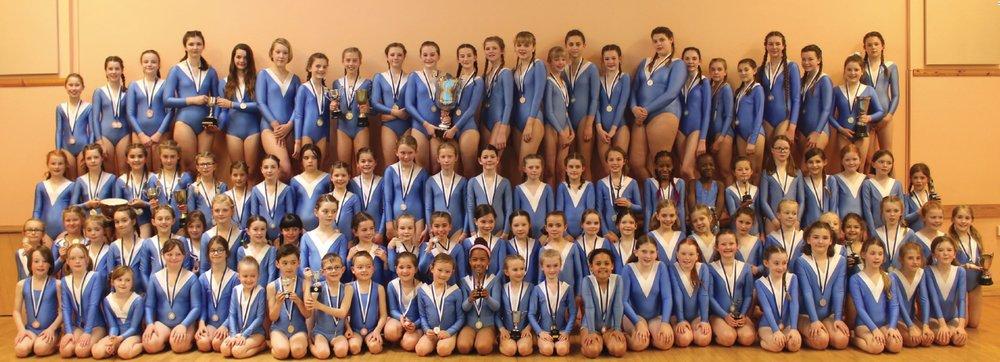 Hurst Gymnastics Club, led by Andrew Hair