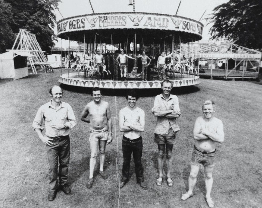 Harris Brothers Family Fun Fair - photo from the 80s