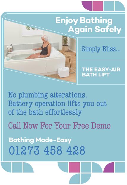 Bathing Made Easy - bath safety in Hurstpierpoint