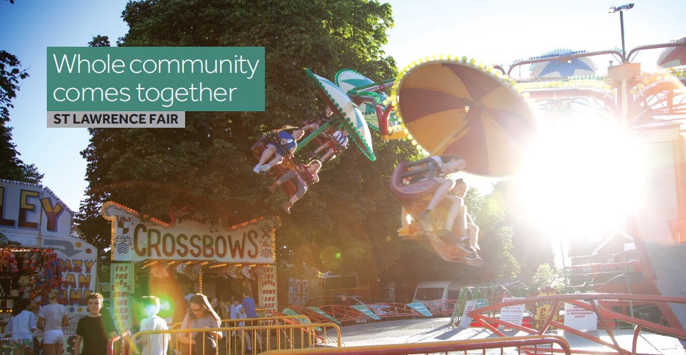 St Lawrence Fair, annual community fair in village of Hurstpierpoint
