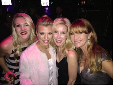 Ashley Campbell, Kimberly Perry, Kim Campbell, and Jane Seymour