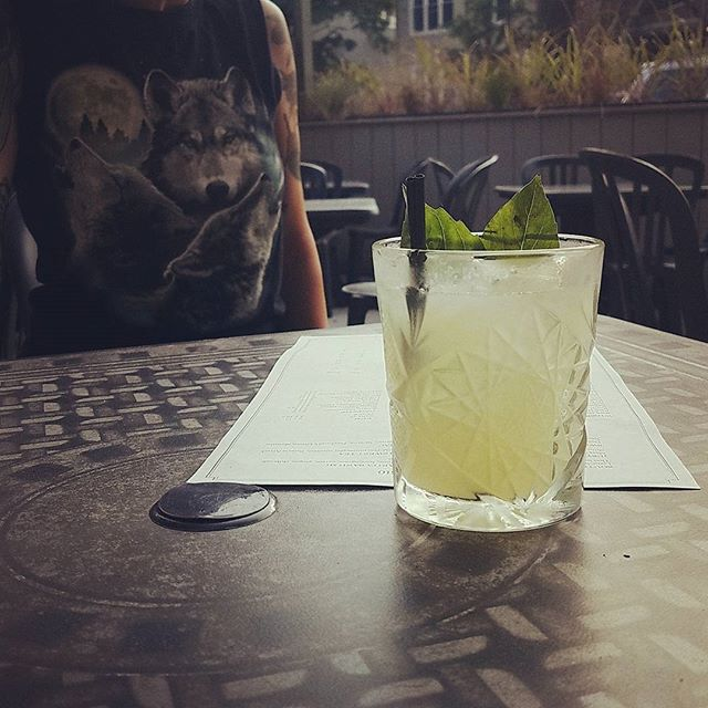 Patio is open! New cocktails for some late summer sippin'. #patio #southbysoutheast #cocktails
