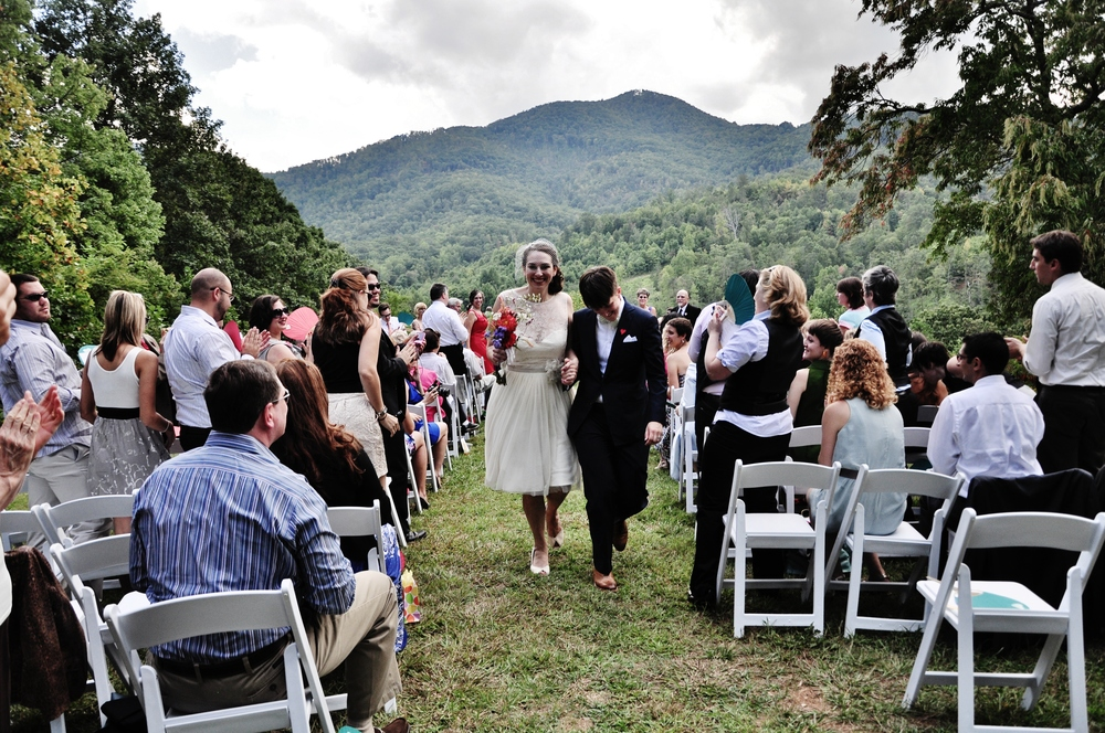 Queer Wedding Ceremony North Carolina Photography