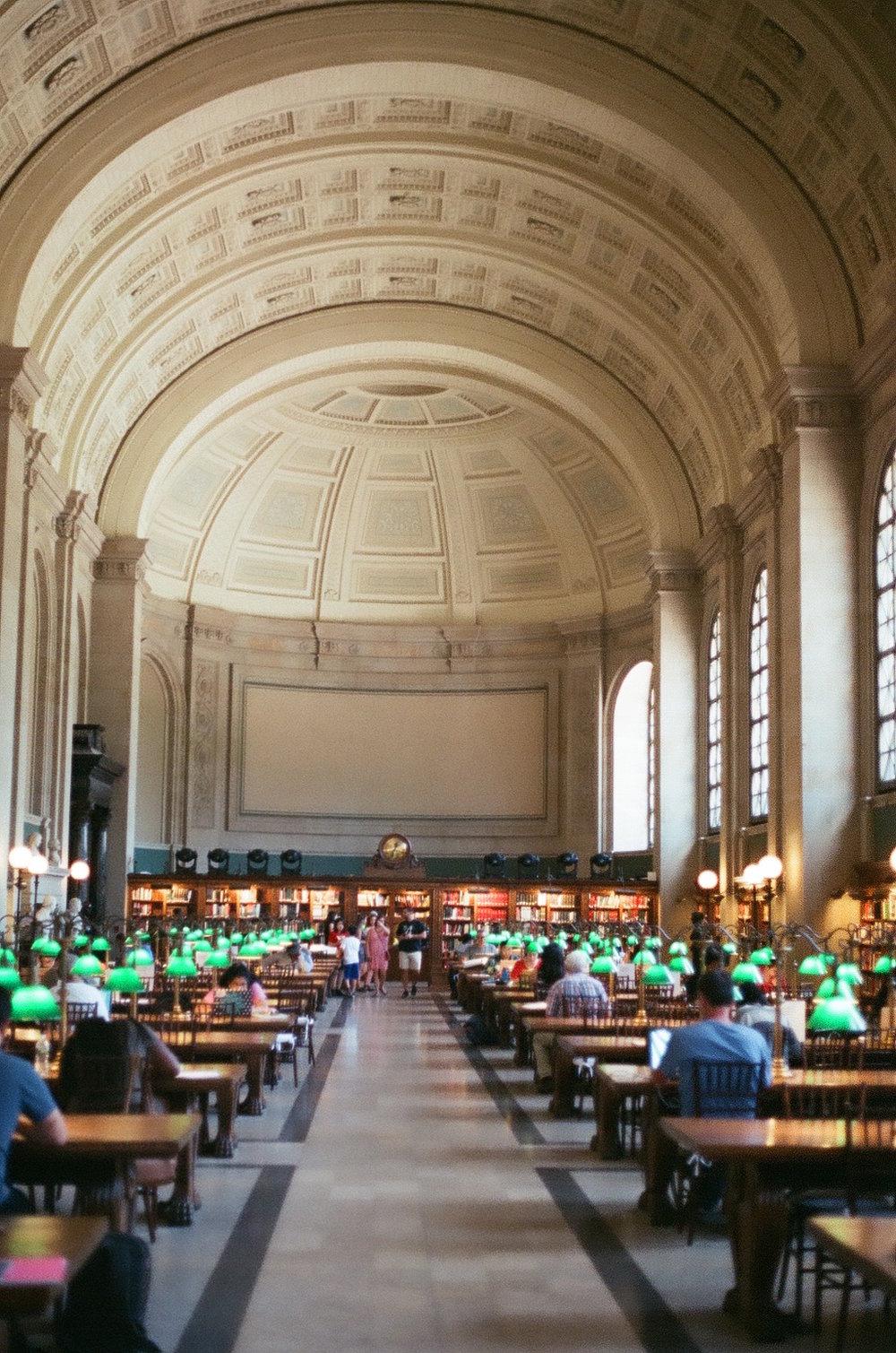 Boston Public Library, 2018.