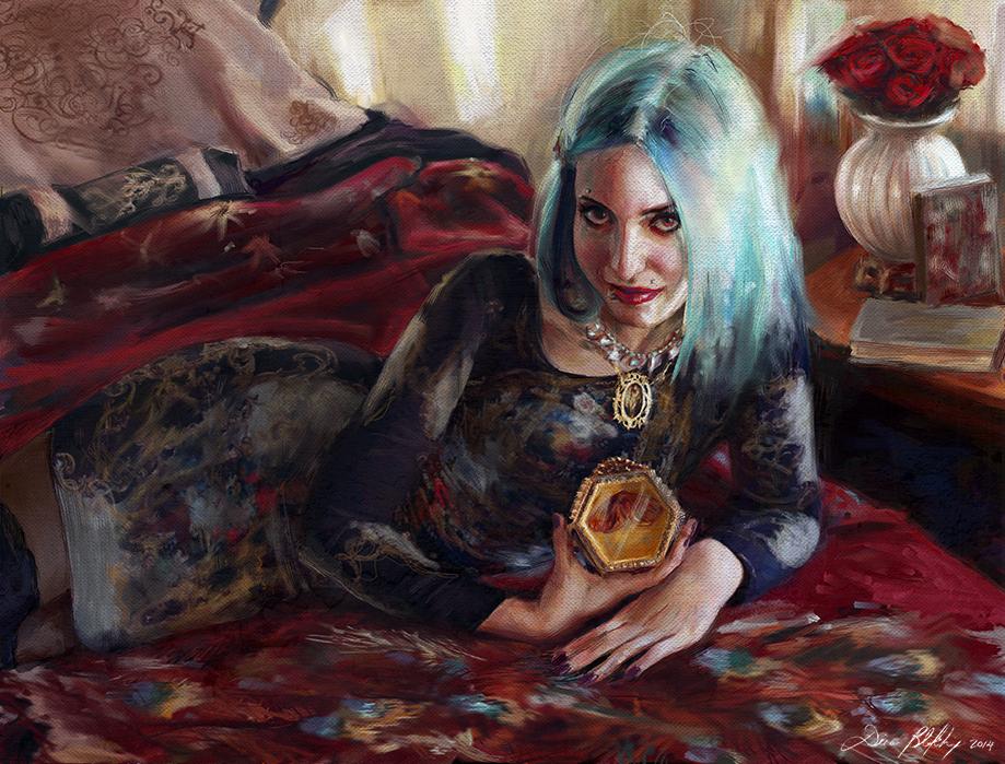 Skin of the Night - Dina Blokhina