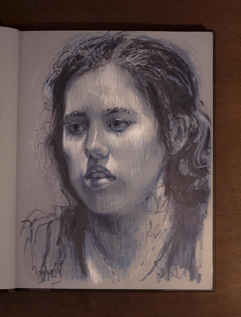 Dina Blokhina - Portrait of Lily