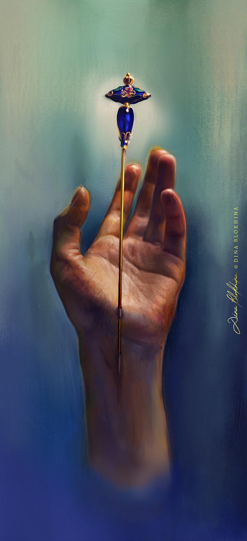Artist's Prayer - Dina Blokhina