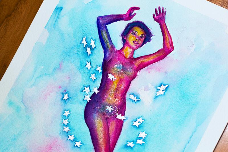 Dina Blokhina - Rebirth - Detail 1