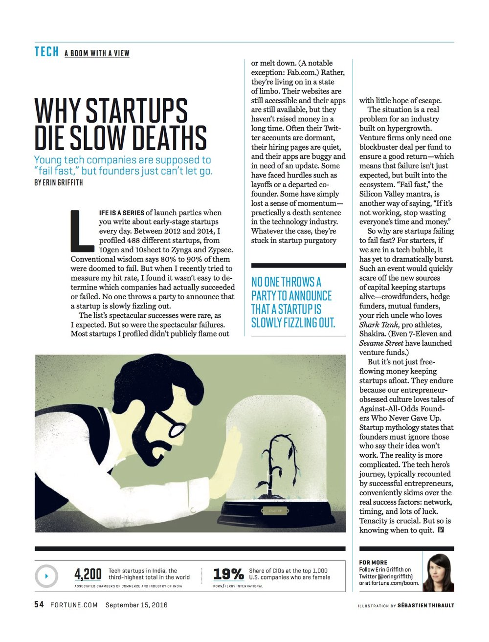 Why Startups Die Slow Deaths