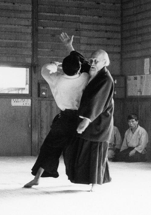 Morihei Ueshiba,founder of Aikido