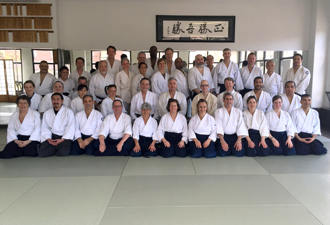 2015 Spring Seminar at Aikido of Westchester
