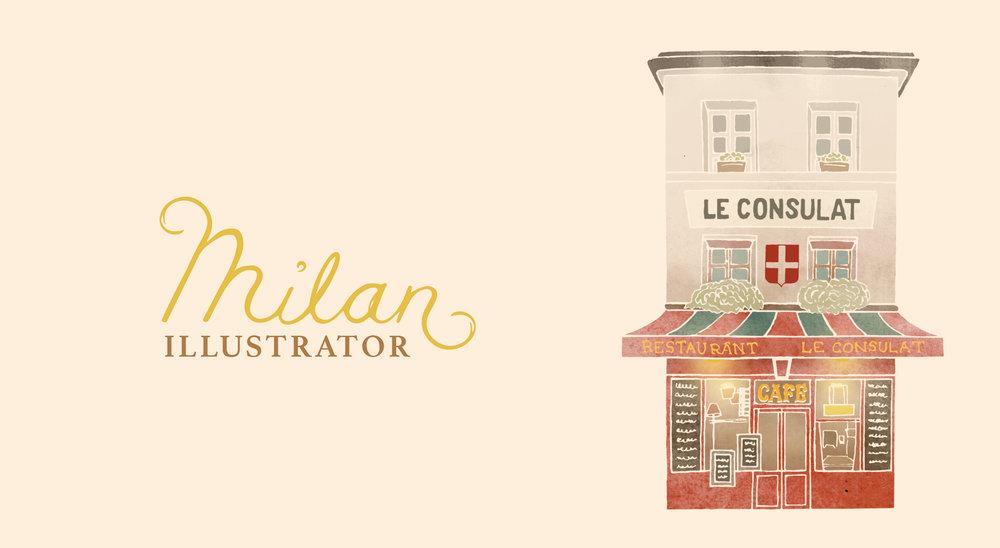 Milan Illustrator