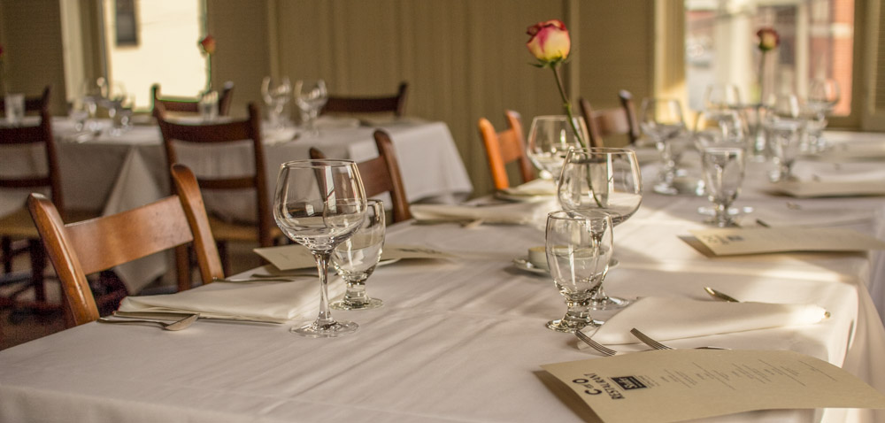Private Events C O Restaurant Charlottesville Fine Dining And