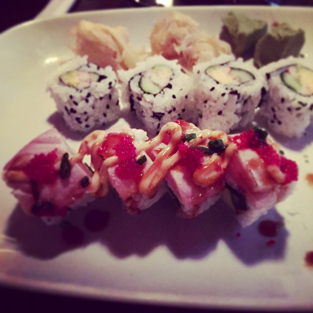 Is it wrong that it is only 10:30 and I'm already thinking about happy hour eats? #getinmybelly #eatlocal #delrayva #sushirolls #happyhour