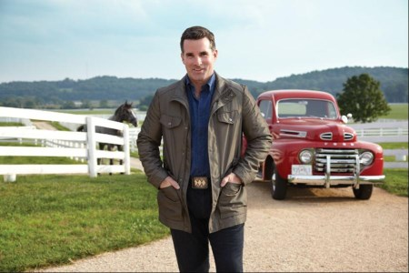 Kevin Plank today on the grounds of Sagamore Farms; photo credit Forbes.com