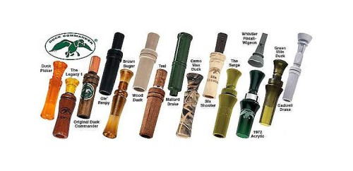 The line of duck commander calls available today.  Image source- Cabelas.com