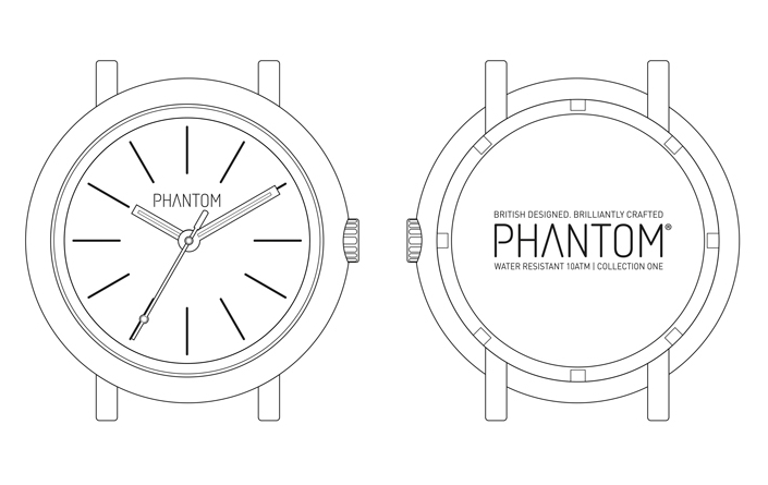 Phantom Collection One  - Case Design