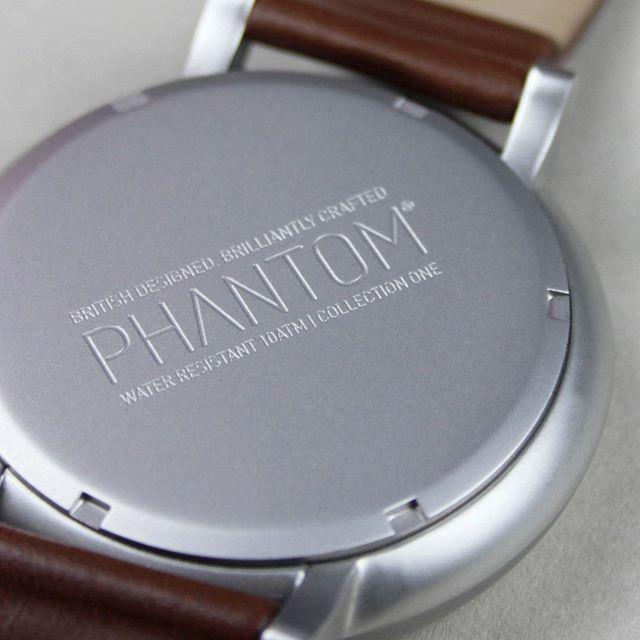 Did you know all our watches are engraved with the Phantom branding to the caseback. Providing those little design touches makes our brand that little bit more special and the attention to detail that we put into the build of our products. All our watches are water resistant to 10 atmospheres so are perfect for swimming and all water sports. ⠀ ⠀ #phantomwatches #watch #watches #watchessentials #watchfam #watchuseek #watchesofinstagram #watchaddict #watchmania #watchlover #wristwatches #wristwatch #instafollow #menswatches #mensfashion #instawatches #watchesformen #luxury #luxurydesign #design #designlife #designer #fashion #designed #style #mensstyle #mens #menswear #menstyle #fashionable