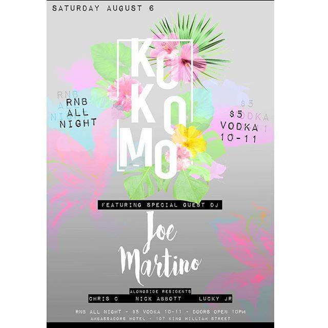 KOKOMO nightclub at 107 King William St. Doors open from 10pm. RnB all night. Drink specials ~ booths ~ dance floor #Kokomo #Rnb #dance #club #adelaidenightlife #adelaideclubbing