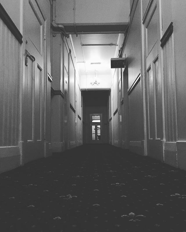 Heritage style... The walkways of Ambassadors Hotel are full of Adelaide history and stories. What will you find down the halls of this stunning old building. @ambassadorshotel #hotel #heritage #old #stories #walkways #hallways #excitement