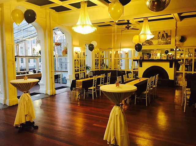 The Balcony Ballroom at the Ambassadors Hotel was alive lastnight in black & gold for Louis's 21st birthday. An incredible night had by all and the room certainly was a classy backdrop for Louis's celebrations. @ambassadorshotel #21stbirthday #functions #events #classy #black&gold