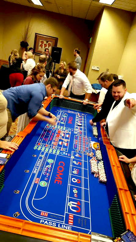 Vinny knows how to entertain a craps table and get the table laughing, cheering and having a great time!