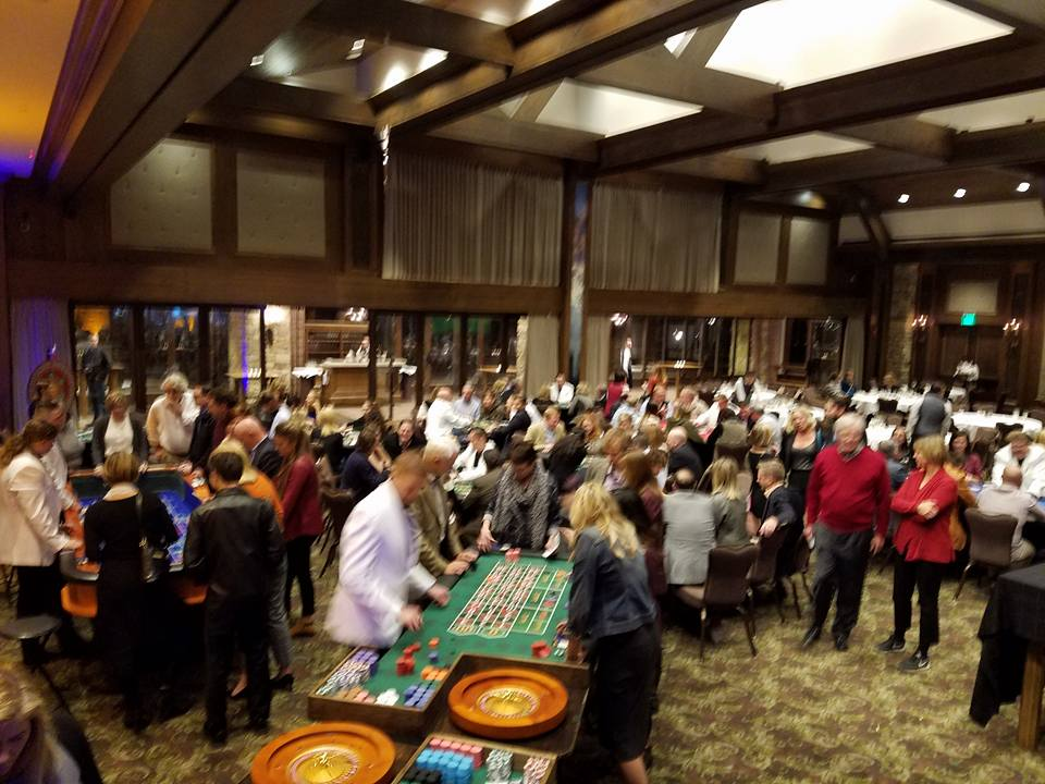 A lively casino party in park city