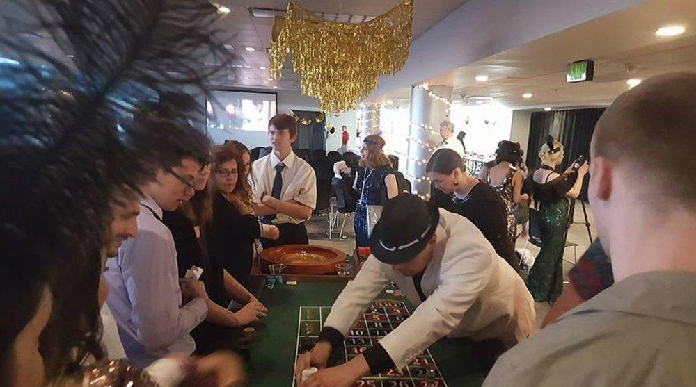 utah casino parties