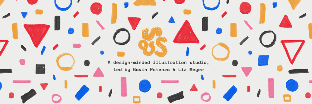 A design-minded illustration studio, led by Gavin Potenza & Liz Meyer