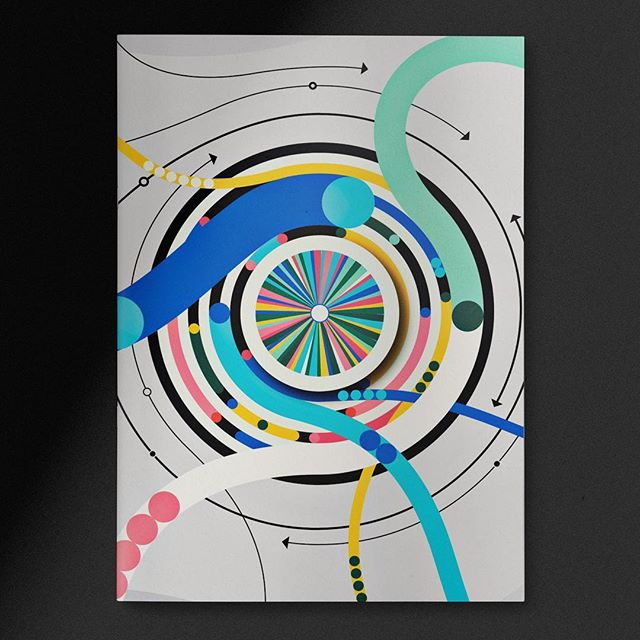 Is this illo about gravitational pull? Black holes? Data converging to create a super data center? The Fast & Furious franchise? I guess we'll never know, cuz this mag cover pitch never actually came to be. . . . . .  #theideafoundation #abstractmag #kiblind #slowgalerie #ballpitmag #clubsensible #picame #designarf #tafmag #Paintguide #powwowworldwide #designboom #newcontemporary #gagosian @etapes @hifructosemag @juxtapozmag #socfeature #supplyanddesign