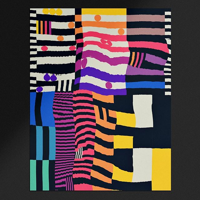 How can i mess this pattern up, without messing it up too much? Push pull undo. Push pull undo a little more. Push day, pull day, leg day. Then maybe let the muscles heal over the weekend . . . . .  #theideafoundation #abstractmag #kiblind #slowgalerie #ballpitmag #clubsensible #picame #designarf #tafmag #Paintguide #powwowworldwide #designboom #newcontemporary #gagosian @etapes @hifructosemag @juxtapozmag #socfeature #supplyanddesign